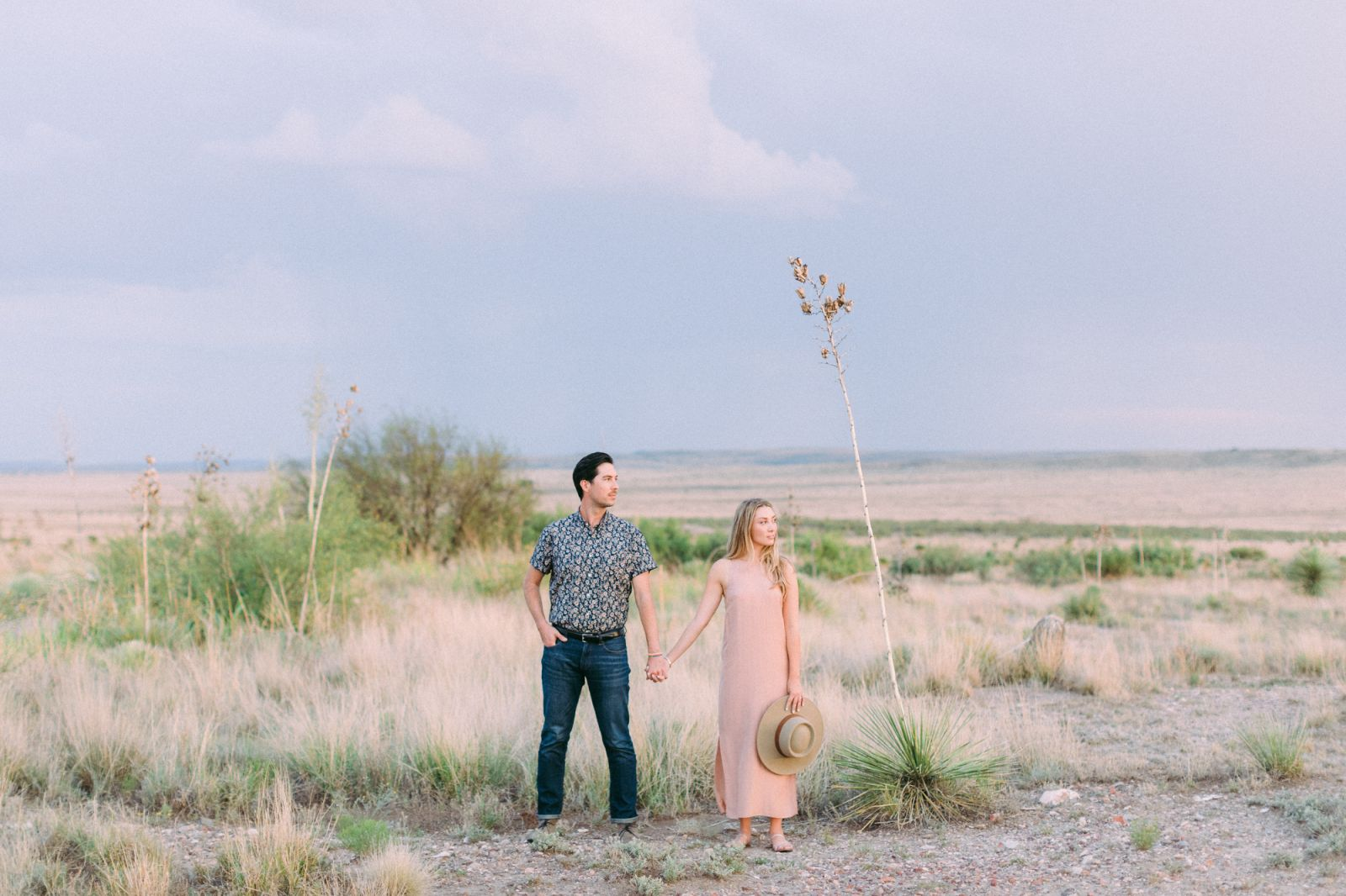 Marfa Texas Engagement