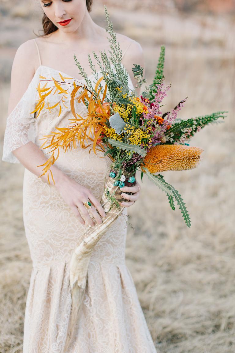 West Texas Bridal Bouquet